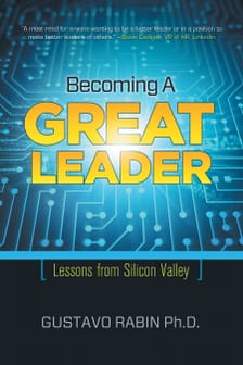 Becoming A Great Leader Book Cover