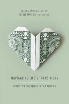 Navigating Lifes transitions book cover