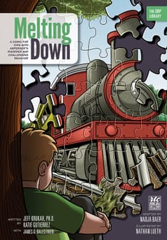 Melting Down comic book cover