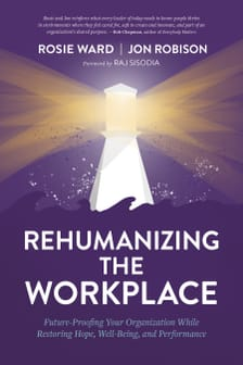 Rehumanizing The Workplace Cover