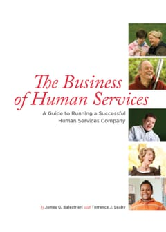 The Business Human Svcs Cover