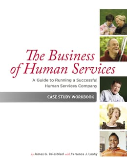 The Business Human Svcs Book Cover