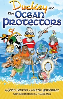 Duckey and The Ocean Protectors book cover
