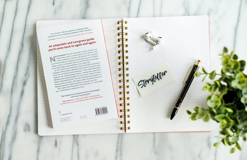 Brand Storytelling and Brand Vision Storyteller Journal