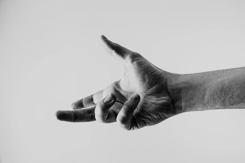 Hand Outstretched
