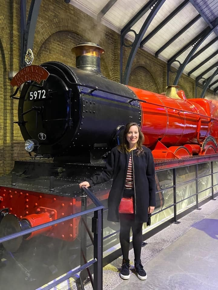 Lover of Language Get to Know Kelsey Schurer RTC Executive Book Editor Hogwarts express