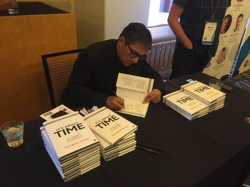 Safwan Signing Books CCAC